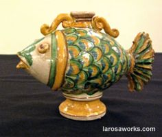 cultures that use fish in pottery - Google Search