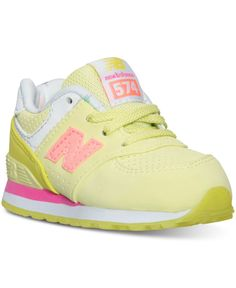 New Balance Toddler Girls' 574 State Fair Casual Sneakers from Finish Line