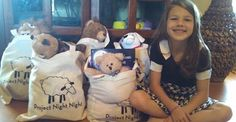 """Leah, 2014 Heartland Cinderella Tot, was recently featured on Channel 3 Wichita, with her charity """"Project Night Night."""""""