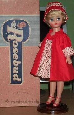 42 Best Rosebud Doll S 1950 S Images On Pinterest Rose