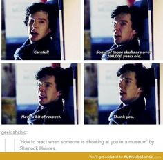 Find images and videos about sherlock, benedict cumberbatch and shoot on We Heart It - the app to get lost in what you love. Sherlock John, Jim Moriarty, Quotes Sherlock, Sherlock Fandom, Sherlock Bbc Funny, Sherlock Actor, Sherlock Cast, Sherlock Holmes Bbc, Watson Sherlock