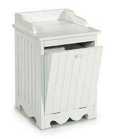 @Overstock.com - Everette White Beadboard Single Tilt-Out Hamper - Add a stylish, versatile piece to your bedroom, bathroom, or laundry room decor with the Everette Beadboard Single Tilt-out Hamper.Crafted of durable wood compositeHighlighted ...  http://www.overstock.com/Home-Garden/Everette-White-Beadboard-Single-Tilt-Out-Hamper/1488431/product.html?CID=214117 $79.99