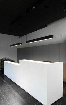 Cadre T16   Kreon — purity in light Office Buildings, Kitchen Pendants, 3d Visualization, Smart Home, Desks, Light Fixtures, Woodworking, House Design, Lights