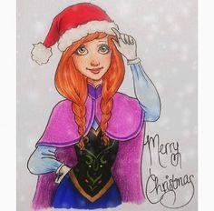 Disney Frozen Fan Art / Princess