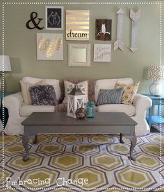 Coffee Table Makeover #furniturepainting #coffeetablemakeover - www.countrychicpaint.com/blog - Embracing Change