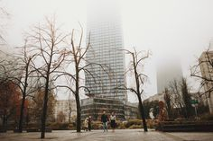 Iza & Radek Prewedding photoshoot with October's mist  #preweddingphotoshoot #October #mist