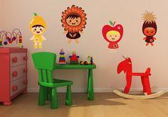 sostick — Les Fruits #Sostick #Stickers #Muraux #Repositionables #Decoration