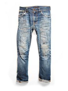 Thin Finn Dry Ecru Embo. Mens Designer ClothingJeans FashionFashion MenNudie  ...