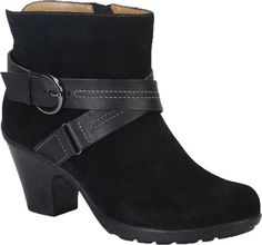 Softspots Cady Women's Boots (Black/Black )