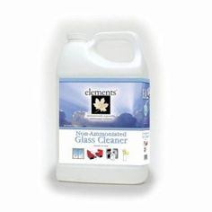 Elements Non-Ammoniated Glass Cleaner, 1 Gallon Bottle (E02-01MN)