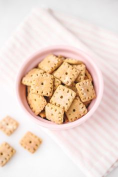 Healthy Vegan Cheez Its (gluten-free, oil free, high protein) | Veggiekins