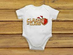 Baby bodysuit Newest clash of clans One Piece by theclansstore, $14.00