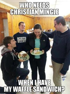 waffle girl #3 Waffle Sandwich, Girl Memes, Waffles, Tuesday, Fat, Christian, Sayings, Funny, Lyrics