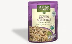 Seeds of Change   Brown & Red Rice with Chia & Kale