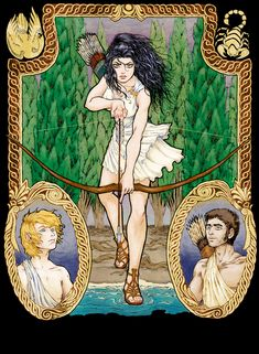 Goddess of the Hunt by megamoth.deviantart.com on @DeviantArt