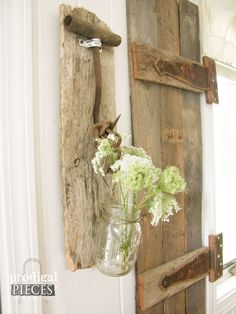 Use Antique Farmhouse Tools As Rustic Wall Decor - Who's to say that rusty old farmhouse tools can't become functional decor? I found a box of treasures full of...