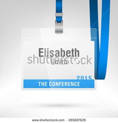 Seven Simple Steps To Superb Conference Badge Design Gafetes - Officemax name badge template