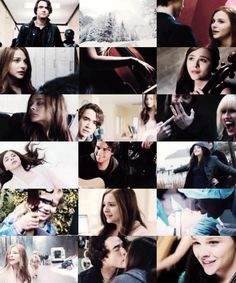Awwww a collection of If I Stay movie trailer stills. This was put together by msdyer.tumblr.com so props to her. It's early on, but I truly think these acts are perfect in their roles. It's the same confidence I feel for the actors of TFiOS. Chloe is so sweet and authentic, and Jamie has such a great way of showing emotion. His music skills are pretty awesome also. There's a video, probably on YouTube, of him singing. I'm impressed!