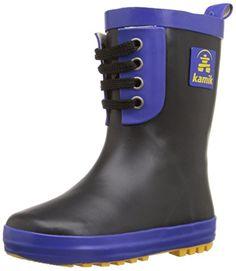 Kamik RN Game Rain Boot (Toddler/Little Kid) * For more information, visit image link. Ethylene Vinyl Acetate, Shoe Storage, Boys Shoes, Hunter Boots, Rubber Rain Boots, Fashion Shoes, Image Link, Kids, Game