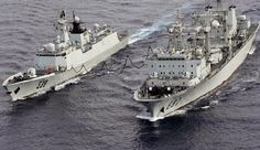 Chinese Navy Resumes Escort Mission in Gulf of Aden. The comprehensive supply ship Weishanhu (R) of the Navy of the Chinese People's Liberation Army (PLAN) is carrying out replenishment for a warship of the PLAN. (File photo). April 2, 2015 - The Chinese Navy formally resumed its escort missions on April 1 after a temporary termination for 109 hours. At 09:00 sharp on April 1, three merchant ships, under the escort of the comprehensive supply ship Weishanhu of the 19th escort taskforce of…