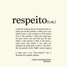 Respeito - João Doederlein