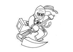 ausmalbilder ninjago schlange - ausmalbilder für kinder