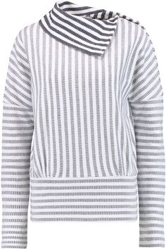 Shop on-sale See by Chloé Draped cotton-jacquard sweater. Browse other discount designer Tops & more on The Most Fashionable Fashion Outlet, THE OUTNET.COM