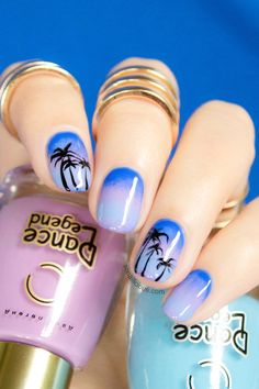 Sea-Inspired Nail Designs To Try This Summer