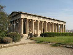 Hephaestus Temple, Greece