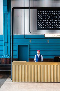 Sydney's century old wharf in Woolloomooloo is now home to the newest Ovolo hotel, following a bold transformation designed to appeal to a new generation.
