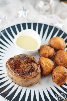 Filet en Tournedos, Sauce Foie Gras et Pommes Dauphine Maison - Une Graine d'Idée