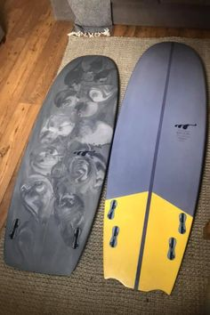 """""""Got a 5'6 Mini Simmons about 4 months ago, absolutely loving it! Before that, I had a 6'2 quad that had a more pulled-in, bat-wing tail - sort of a modified version of a mini Simmons! Such fun boards! 🤙"""" - John M. via FB #minisimmons #minisimmonssurfboard #surfing #surfboardshaping #surfboardshaper 4 Months, Bat Wings, Quad, Surfboard, Surfing, Boards, Mini, Planks, Surfboards"""