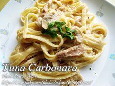 Tuna Carbonara Supreme   Panlasang Pinoy Meaty Recipes