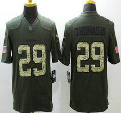 seattle seahawks jersey 29 earl thomas iii green salute to service 2015 nfl nike limited jerseys