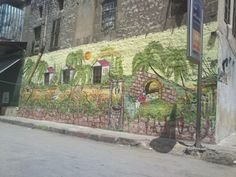Drawing on wall at al mlaab Street #aleppo #حلب