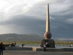 Kyzyl: Center of Asia. I have been in the center of Asia