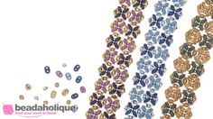 How to Make the SuperDuo Blooms Bracelet Kit