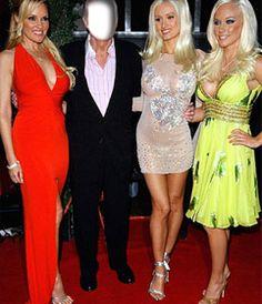 #Fotomontaje de el dueño de la famosa revista #Playboy. www.fotoefectos.com