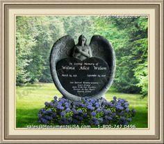 Angel-Headstone-202 | Angel Design Headstone | Head Stone Angel