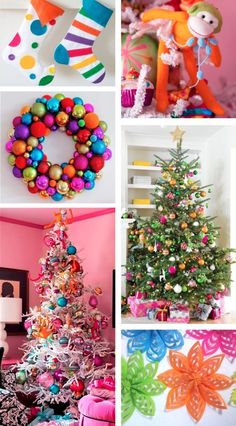 Multi-coloured Ornaments | Bright Spring
