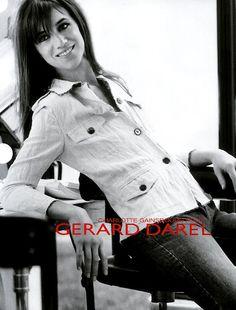 Charlotte Gainsbourg for Gérard Darel, photo by Sylvie Lancrenon.