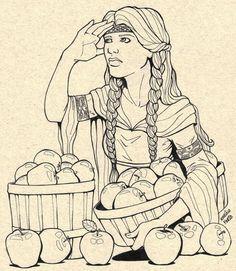 Idunna - norse-mythology Fan Art