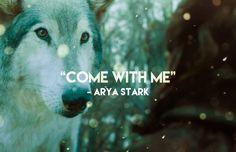 "Arya to Nymeria (7x2 ""Stormborn"")"