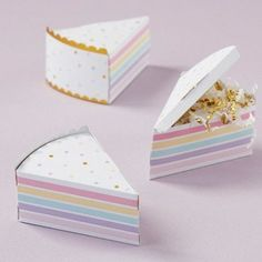 Budget Wedding Favours, Wedding Favor Boxes, Wedding Gifts, Baby Shower Favors, Baby Shower Gifts, Wedding Shoppe, Colorful Cakes, Pretty Box, Candy Boxes