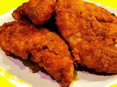 Yummy Oven Baked Fried Chicken ~ International Recipes - Foods and Drinks