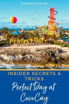 Top 20 Insider Perfect Day at CocoCay Tips and Secrets Bahamas Honeymoon, Bahamas Vacation, Bahamas Cruise, Nassau Bahamas, Honeymoon Planning, Best Cruise, Cruise Tips, Cruise Travel, Cruise Vacation
