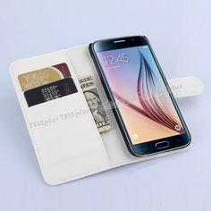 Samsung Galaxy S6 Cüzdanlı Kılıf Beyaz -  - Price : TL24.90. Buy now at http://www.teleplus.com.tr/index.php/samsung-galaxy-s6-cuzdanli-kilif-beyaz.html