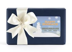 Snowman! classic labels -holiday -let it snow #ECgiveaway #ECwishlist