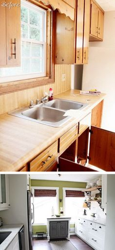 Ikea Kitchen Renovation: Cost Breakdown. What a great transformation. I love that they did such a great job of balancing exactly what they want with the cost of the cabinets, appliances and details.