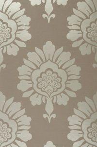 Beige grey gold wallpaper